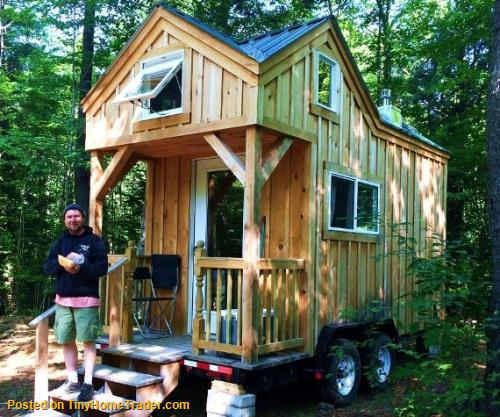 tiny homes on wheels thows for sale